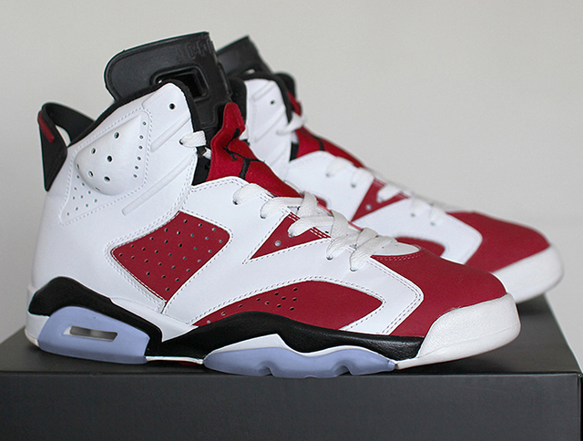 san francisco b7439 43975 Last seen as part of the 2008 Countdown Pack, this year s release of the   Carmine  Air Jordan 6 Retro ...