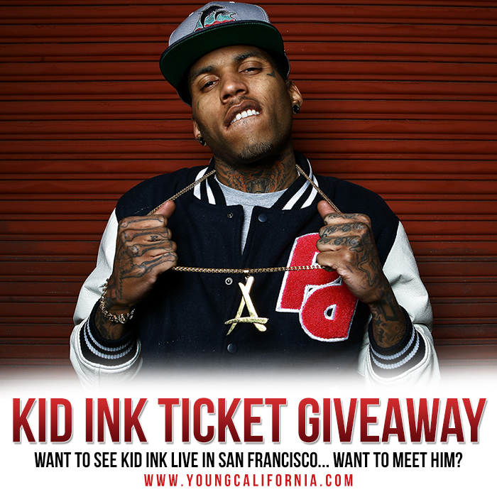 Kid ink youngcalifornia ticket giveaway young california want to see kid ink live well youngcalifornia has the tickets and we will be giving 5 winners plus a friend the opportunity to do so m4hsunfo