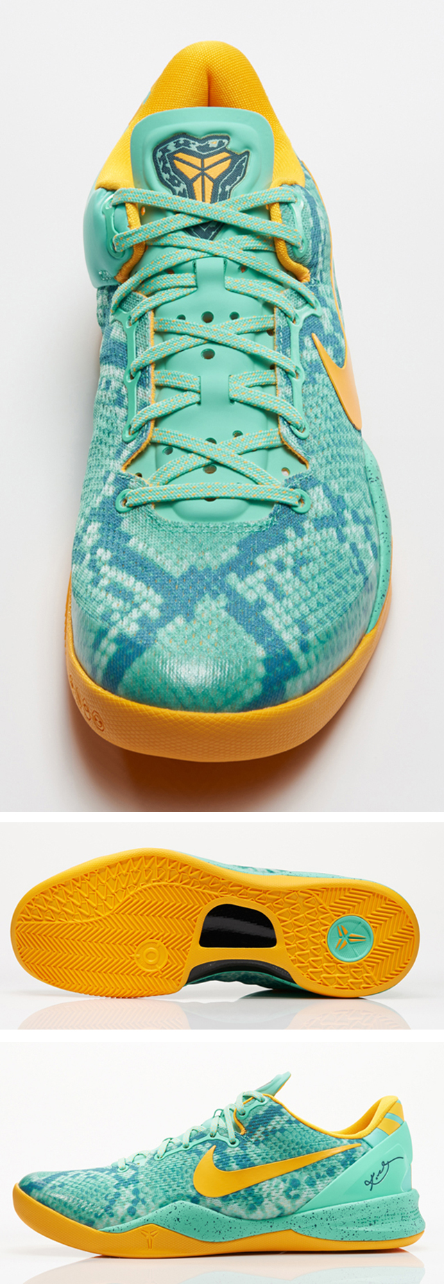 check out ec038 51e7c Green Glow Laser Orange-Mineral Teal 555035-304. December 20, 2013  140.  Filed under Fashion, Sneakers · Tagged with Green Glow, Kobe 8, Nike, ...