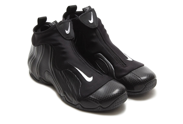 best sneakers eb752 fdf54 At long last, some fifteen years after its debut, the Carbon Fiber  Flightposite returns on Saturday, February 22nd. The Nike Air Flightposite  2014 begins ...
