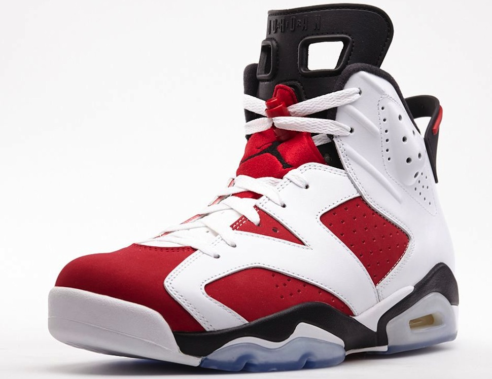 on sale 635fb ed496 Filed under Fashion, Sneakers · Tagged with Air Jordan 6, Carmine ...