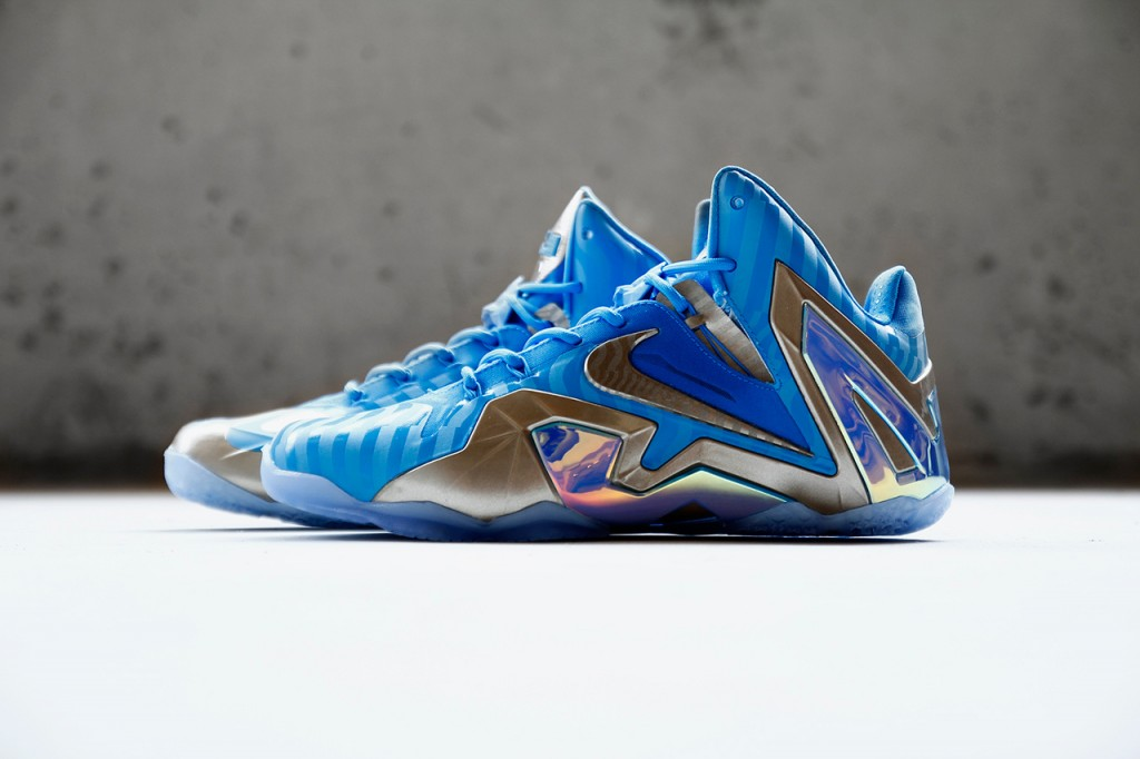 baby blue lebrons
