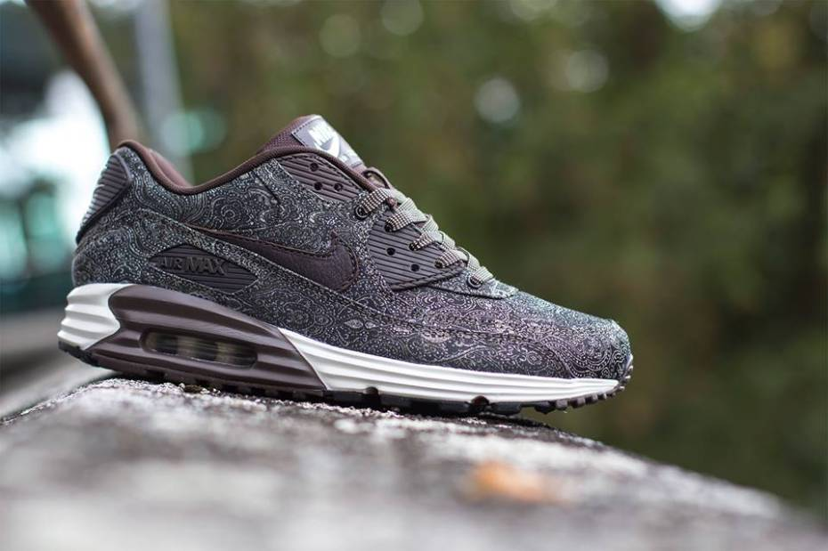 Nike Air Max Lunar90 Suit and Tie Pack Deep Burgundy Red