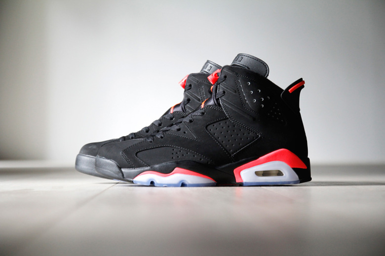 Air Jordan 6 Retro Infrared 23/Black-Infrared 23