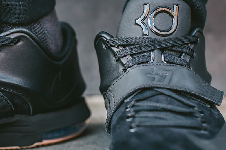 finest selection bb4da 67d97 ... Python All Black Gum Cheap For Sale-3 Nike KD 7 EXT Suede Following ...  Related Posts ...
