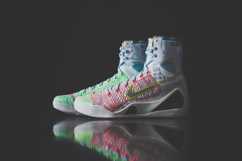 412f969a8f4 ... 9 2014 High Top Blue Green Orange Mens Shoes Cheap Outlet Nike Kobe 10  Elite Elevate Sole Collector Shortly surpassing .