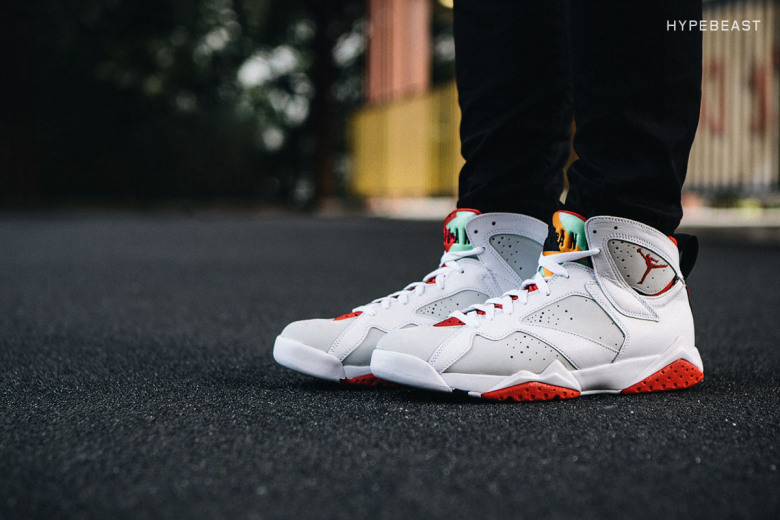 2015 05 Air Jordan 7 Retro Hare Jordan Shoes Norway