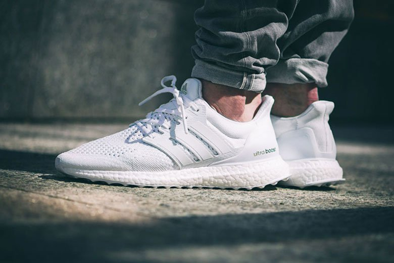 adidas ultra boost blanche homme