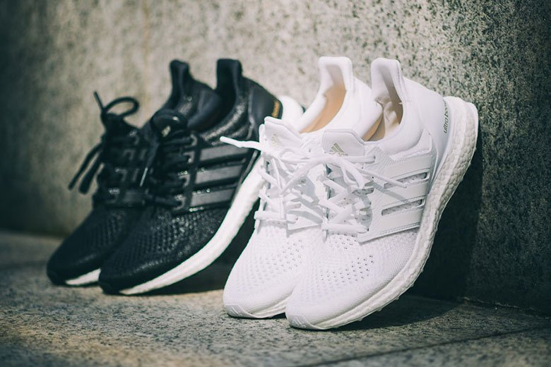 adidas ultra boost white homme