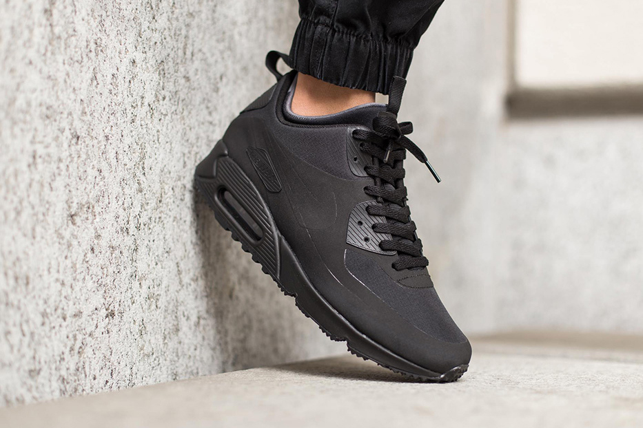 Nike Air Max 90 Leather Triple Black