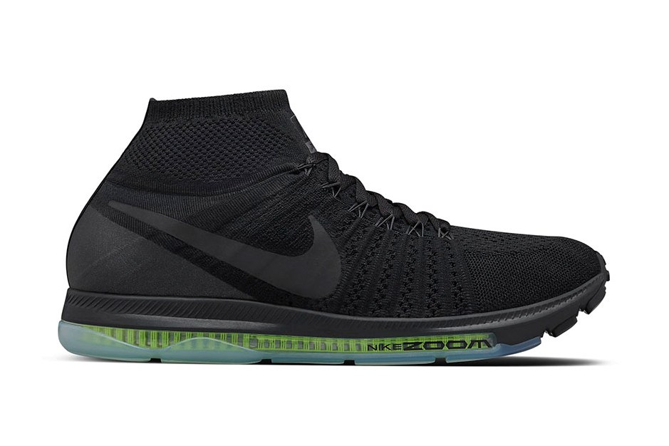 nikelab zoom all out flyknit triple black young california. Black Bedroom Furniture Sets. Home Design Ideas