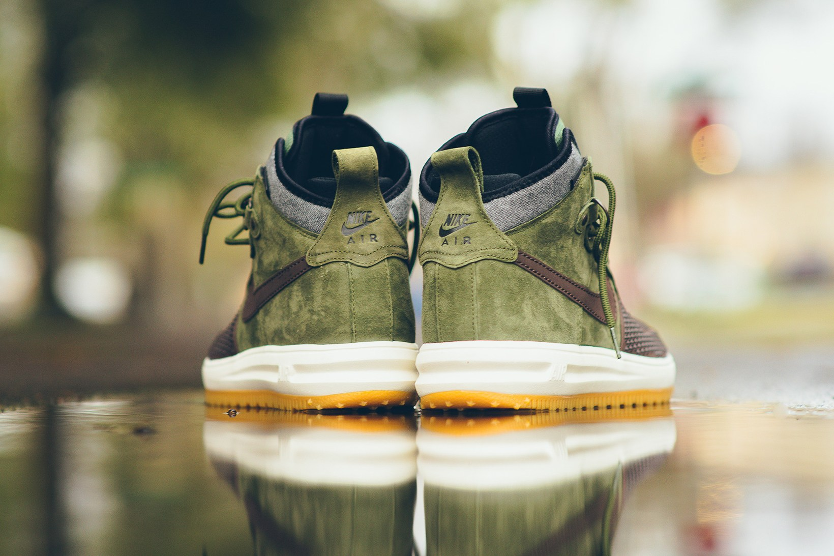 the latest 8d549 d1a21 nike lunar force 1 duckboot brown olive gum