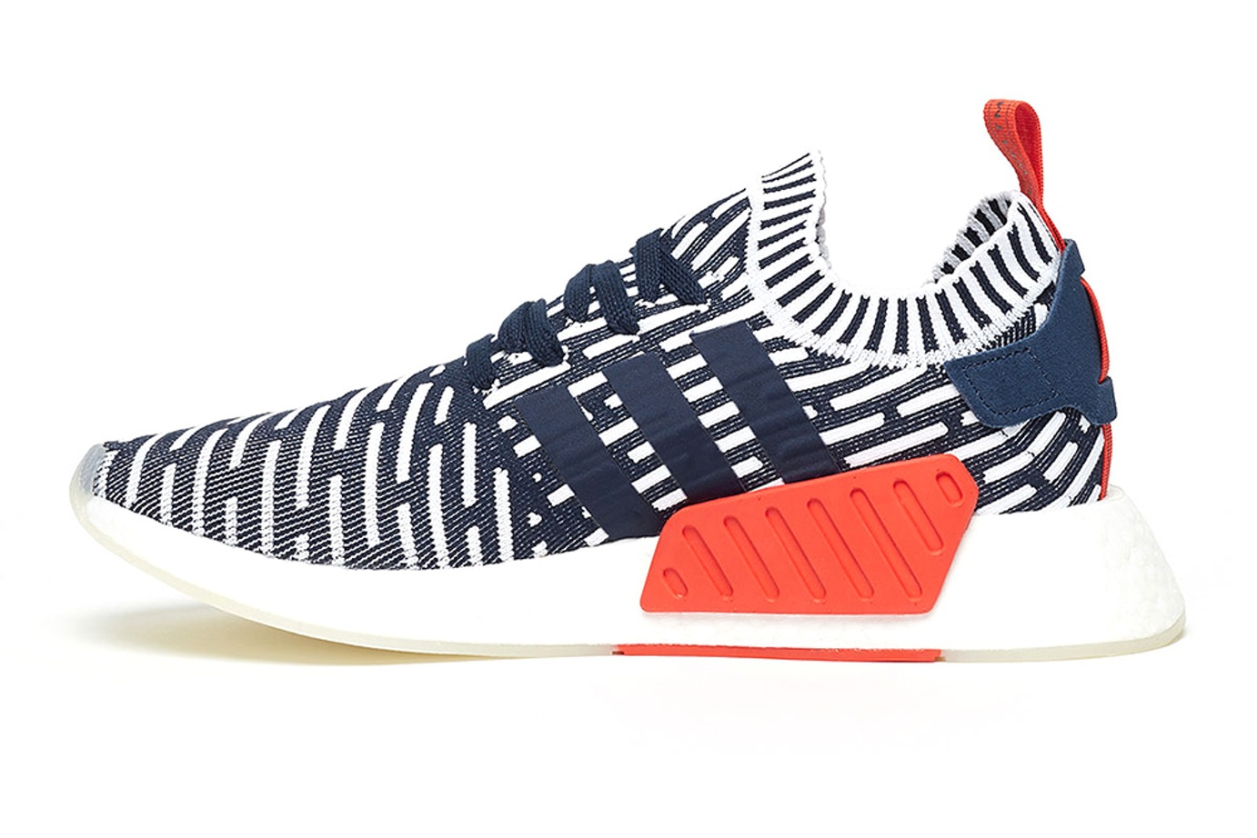 Adidas NMD R2 Primeknit Red/Black/White Men's Sneakers BB2910
