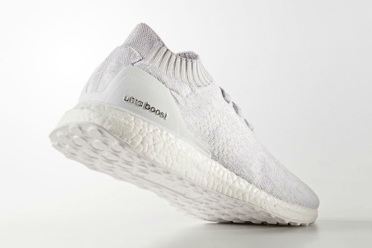 "0892a5b42f621 The fan-favorite adidas UltraBOOST Uncaged silhouette sees a slick makeover  for the summer months. Featured in an all-new ""Triple White 2.0″ colorway"