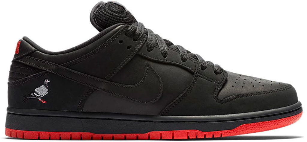 """new concept f8479 6fa25 This year, Nike SB aimed to revitalize itself through the launch of the  jeffstaple-designed Dunk Low """"Black Pigeon."""" This model revisits one of the  brand s ..."""