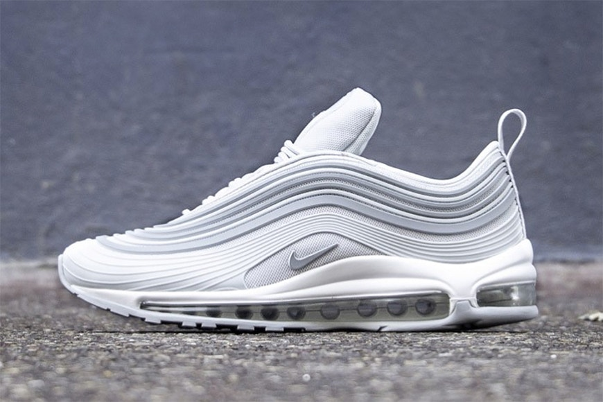 """innovative design d8e90 7eb92 Adding to its series of Air Max 97 Ultra '17 colorways, Nike recently gave  its updated Air Max model a clean """"Pure Platinum"""" makeover."""