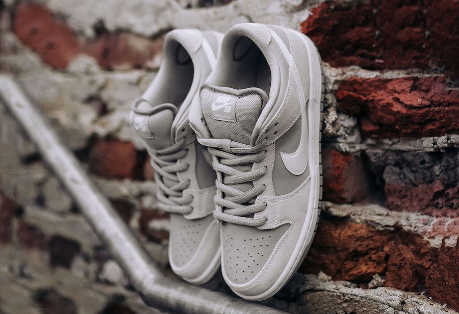 """eff6a664cf Following up on a sharp black and white Murasaki """"Ride Life"""" edition, Nike  SB continues its Dunk Low rollout with a new """"Wolf Grey"""" colorway for its  TRD ..."""