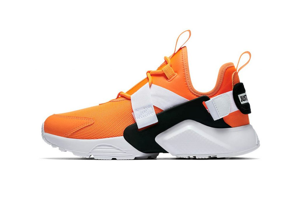 "9a3dbeed897a Nike s celebratory ""Just Do It"" collection expands with a new iteration of  the Huarache City Low model. Following last months white and black  colorway"