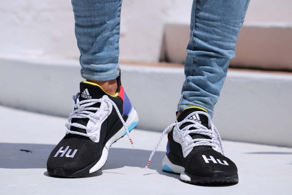 "0fcaaf7ee211a Pharrell Williams x adidas Solar Hu Glide St ""Black""   Young California"