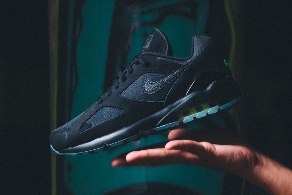 """9e849d0caaee Our first look at Nike s Air Max 180 """"Black Volt"""" model came last spring"""