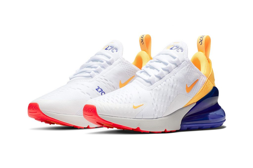 3e41baf922 Shortly after joining the NIKEiD family of customizable sneakers, Nike's  Air Max 270 unveils its latest colorway, which bears a close resemblance to  the ...