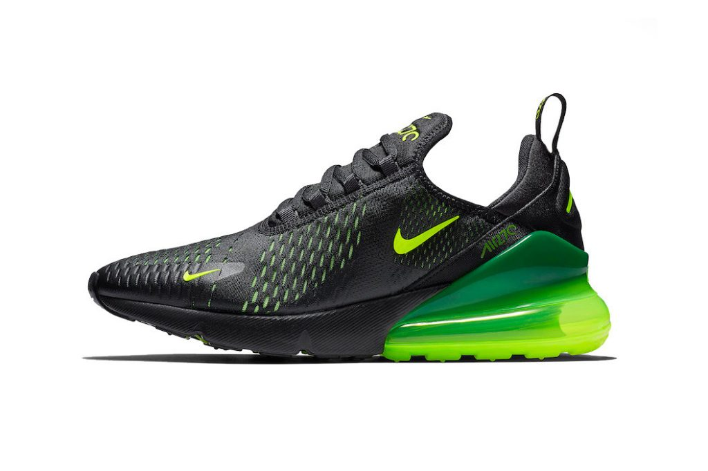 6adee5781e12a One of the Swoosh s newer Air Max silhouettes will share a black-dominated  upper with volt accents throughout. Over the years