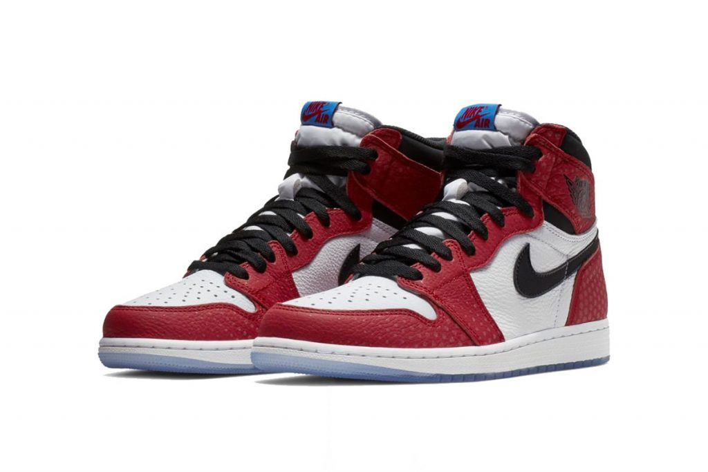 """buy popular 2307e b9cd9 At the top of the month we shared one of the first looks of the Air Jordan  1 Retro High OG """"Origin Story."""" Inspired by Spider-Man  Into the  Spider-Verse, ..."""